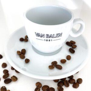 Van Balen koffie kop en Schotel