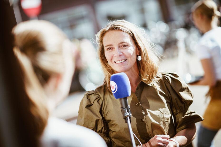 Interview Mariska van Balen Omrop Fryslân