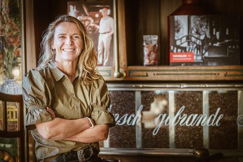 Mariska van Balen in Brasserie De Stadstuin