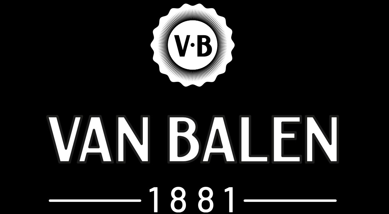 Logo Van Balen Koffie Zwart Wit